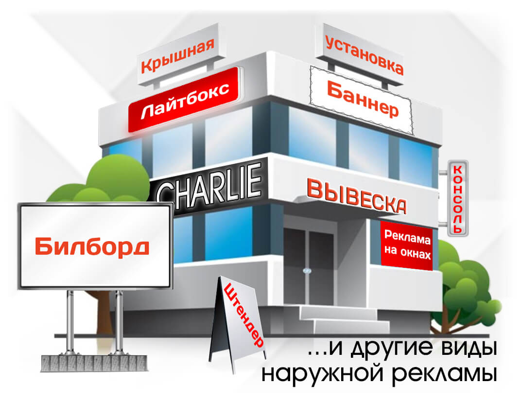 Наружная реклама в Воронеже